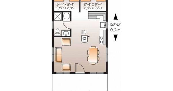 540 Sq Ft Garage Apartment Porte Cochere Pinterest