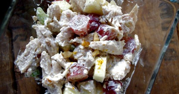 Waldorf salad, Skinny chicken and Skinny on Pinterest