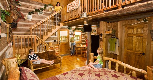 Hand Hewn Cabins At Silver Dollar City 39 S The Wilderness In Branson Missouri The Wilderness