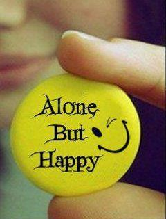 Alone But Happy Wallpaper Free Download Mobilclub Mobi Happy Alone Nice Dp For Whatsapp Happy Dp