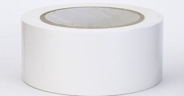 Pvc Vinyl Aisle Marking Tape 6 Mil 2 X 36 Yd White Pack Of 24 Pvc Vinyl Vinyl Tape
