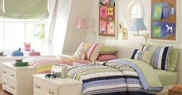 Dormitorio Ninos Diseno Of Habitaci N Compartida Decoraci N Pinterest Dise O