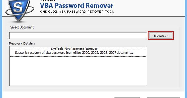 SysTools CorelDraw GMS Password Remover (2 0) Download For