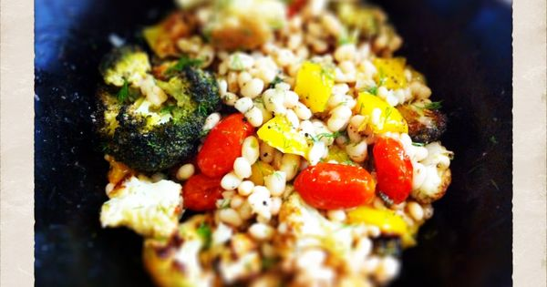 Roasted summer vegetables, White bean salads and Bean salads on ...