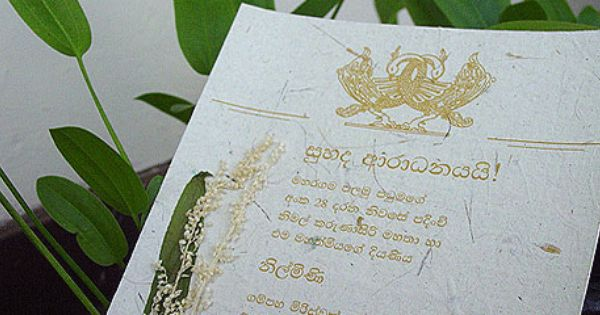 Sri lankan wedding invitation wordings picture ideas references invitation card format sinhala image collections wedding invitations sri lanka google search stopboris Images