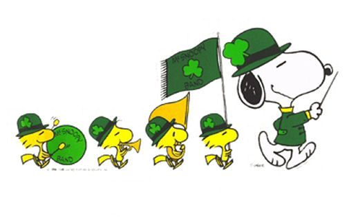 Leprechaun Cracks Down On Speeders Snoopy Snoopy Wallpaper Charlie Brown And Snoopy