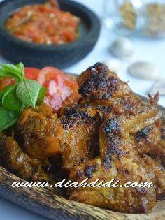 Diah Didi S Kitchen Ayam Bakar Bumbu Opor Resep Ayam Makan Malam Resep Masakan