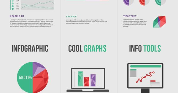 """Freebie Release: """"Modern Business"""" Infographic Elements"""