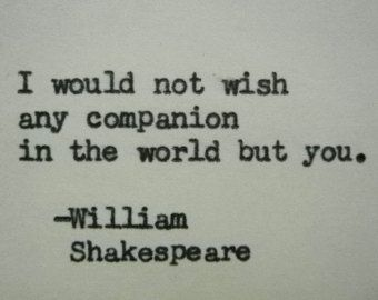 William Shakespeare Romeo And Juliet Quote Typed On Typewriter Unique Gift Shakespeare Love Quotes Shakespeare Love Famous Love Quotes