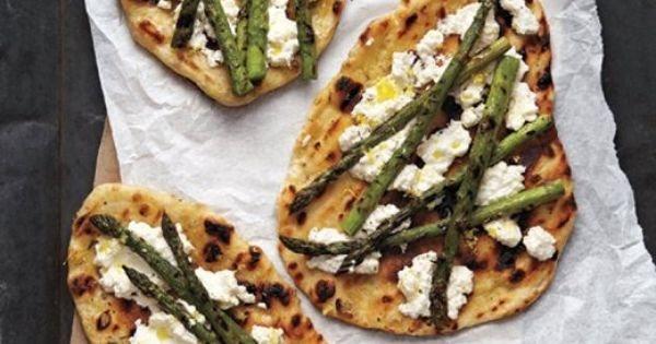 Grilled asparagus, Pizza recipes and Pizza on Pinterest