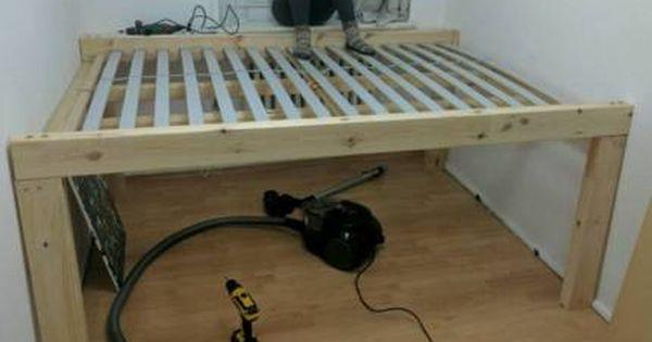Bett 140x200 Mit 2 Ikea Schubladen Malm Ikea Schubladen Bett Lagerung Bett 140x200