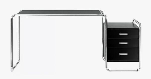 Marcel Breuer Desk Table Thonet S 285 Design De Mobiliario