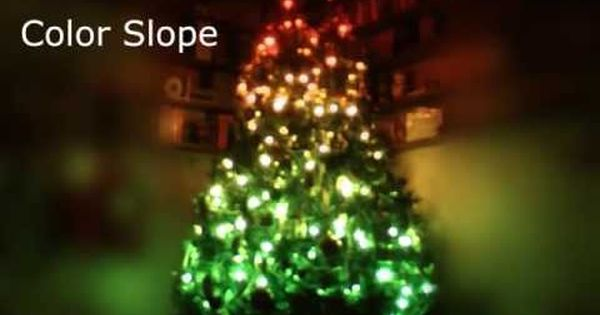 Arduino Controlled Positional Rgb Led Christmas Tree 6 Steps With Pictures Led Christmas Tree Christmas Tree Rgb Led