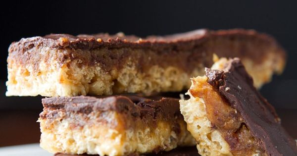 Homemade Crispy Twix Bars - No bake, vegan, gluten-free ...