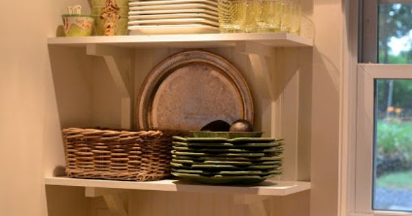 Repisas de madera ideal para espacios peque os hsh for Repisas espacios pequenos