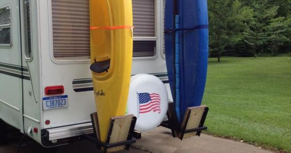 Kayak Racks For Back Of Fifth Wheel Rv Kayak Stuff