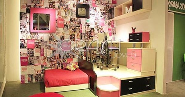 Dise o de habitaciones para adolescentes mujeres - Diseno de habitaciones pequenas ...