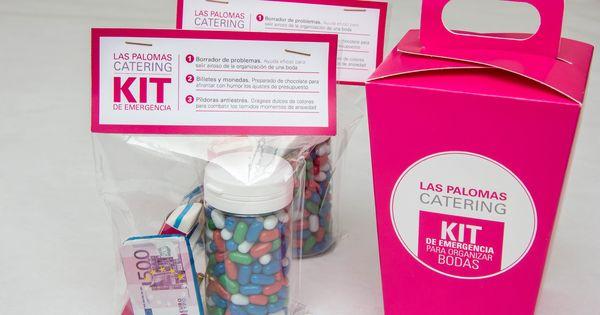 Kit de emergencia para organizar bodas | Diseño para ...