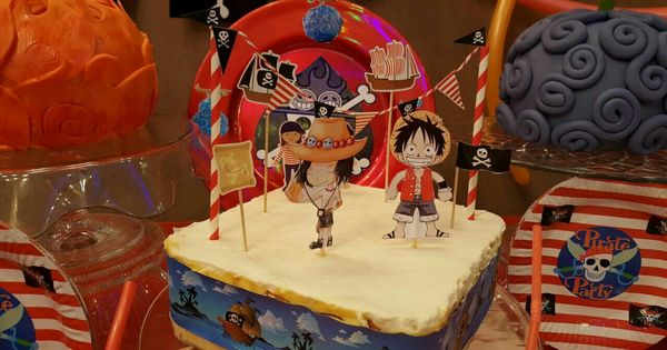 One Piece Birthday Theme One Piece Birthday Party Ace And