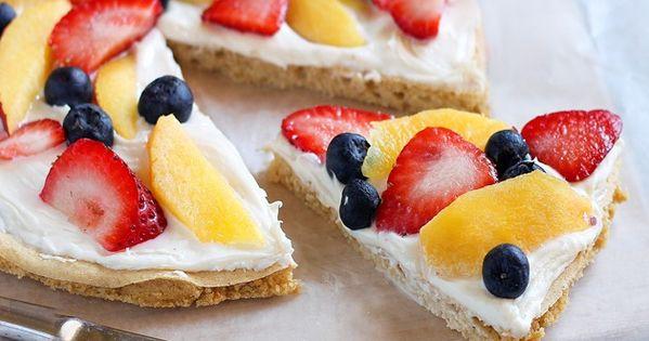 Healthy Fruit Pizza - Crust Recipe (200 calories per pie crust/serves 2)