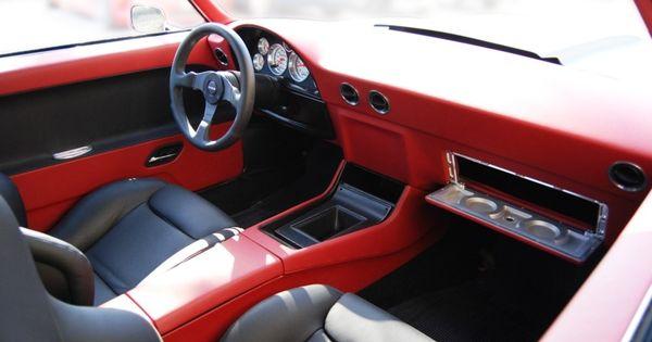 69 camaro becausess red black billet grey custom dash door panels console silver marquez. Black Bedroom Furniture Sets. Home Design Ideas