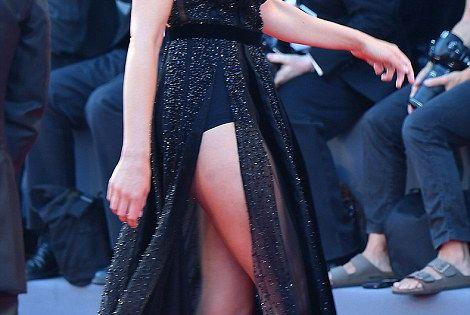 Gemma Arterton steals the Venice Film Festival red carpet ... Jude Law