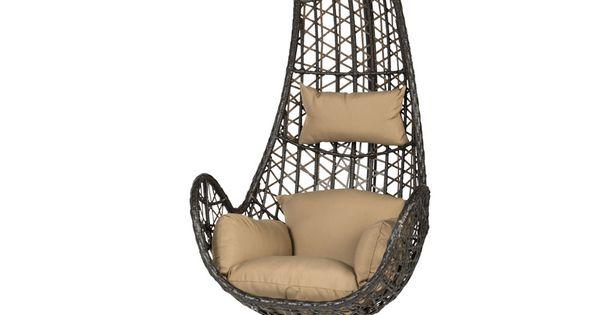 Chaise suspendue salvador meubles de jardin chaises for Chaise suspendue