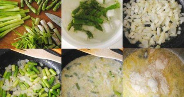 Crema De Trigueros Con Parmesano Recetas Con Esparragos Verdes Esparragos Receta Crema De Esparragos