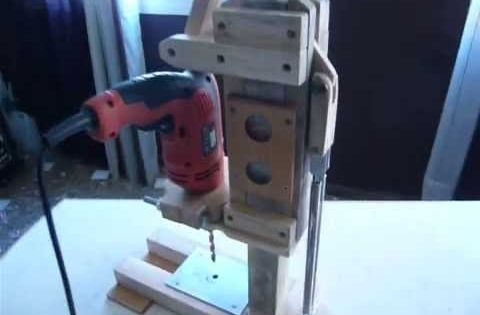 Download video soporte casero para taladro 2 drill - Soporte de taladro ...
