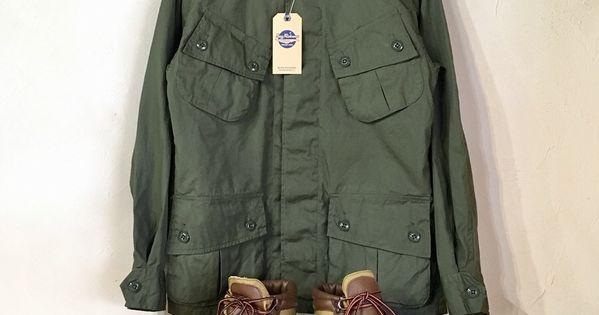 uzz rickson s coat man s combat tropical コットンポプリン生地を使用した定番のジャングルファティーグジャケットの初期モデルです ポプリン カジュアル モデル