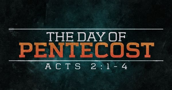 day of pentecost devotional
