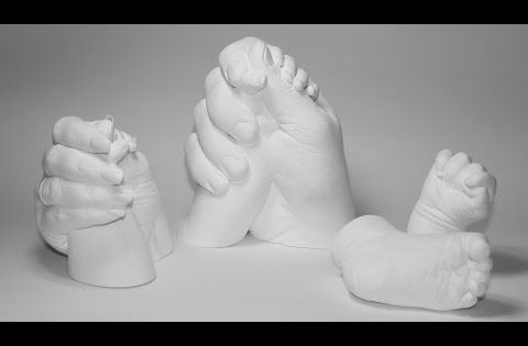 gipsabdruck set 3d handabdruck mutter oder vater mit baby selber machen anleitung zubeh r. Black Bedroom Furniture Sets. Home Design Ideas