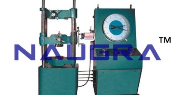 Universal Testing Machine Hydraulic Mechanical Version Hydraulic Mechanic Universal