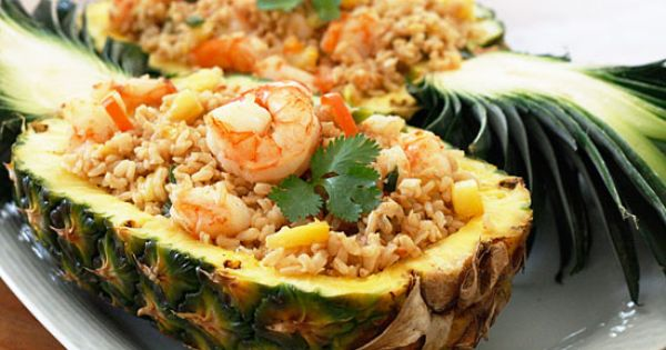Pineapple Shrimp Fried Rice Great Food yummy food| http://awesome-i-love-photos-of-foods.blogspot.com