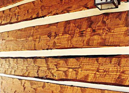 Rustic Exterior Siding Rustic Hand Hewn Log Siding