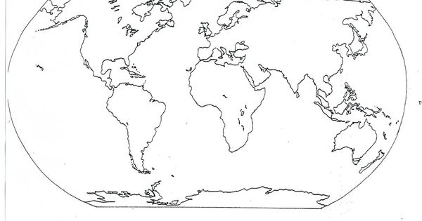 world map coloring page 05 for