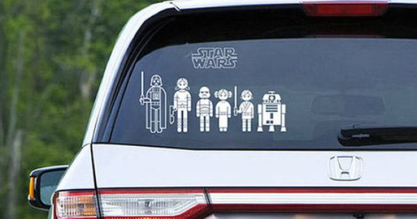 Star Wars Car Decals For The Whole Family / This is a
