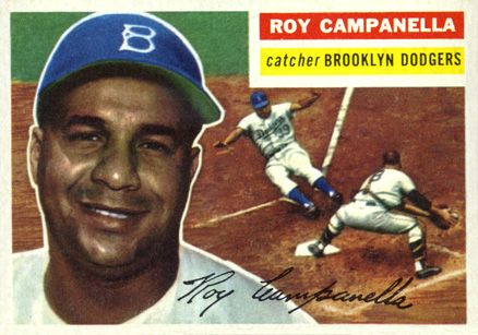 Roy Campanella Is Named The Most Valuable Player In The National Baseball League For The Second Time Baseball Cards Dodgers Baseball Baseball