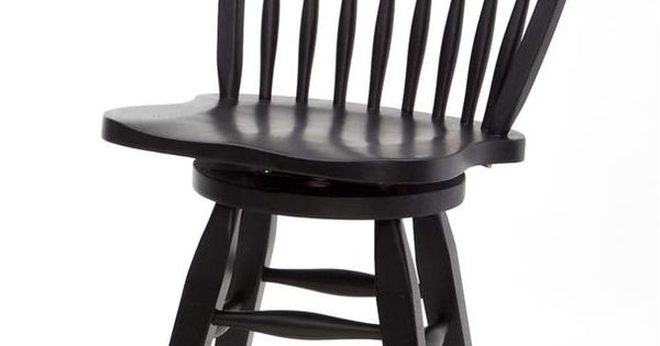 Rustic Traditions 24 Inch Windsor Bar Stool With Swivel By