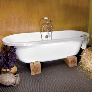 Great Idea Holding The Tub Up With Oak Blocks Cheap And Easy