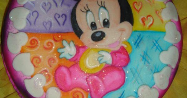 Baby Gifts Katy Tx : Baby minnie cake torta de bebe pastel