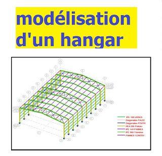 Projet De Construction Metallique Calcul Et Modelisation D Un Hangar Construction Metallique Hangar Metallique Construction