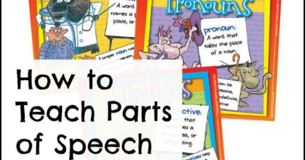 how in order to show sections in speech