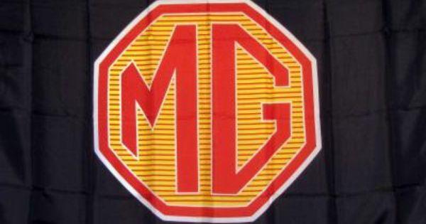Automotive Mg Black 3 X 5 Flag Flag Flag Signs Business Banner