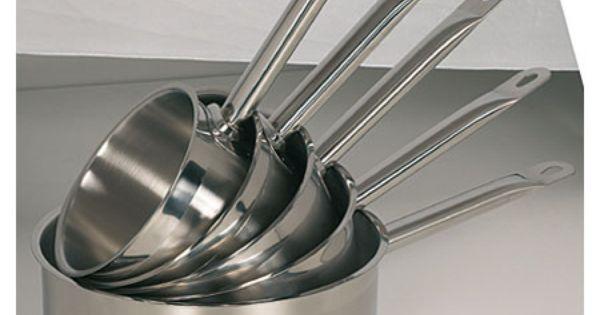 homichef casserole inox sans couvercle 18 cm h. Black Bedroom Furniture Sets. Home Design Ideas