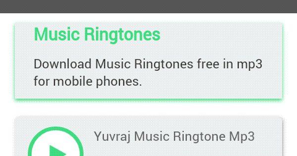 mobile phone ringtones mp3
