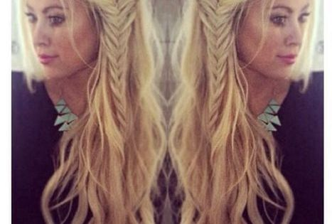 Boho hairstyles are all the rave right now. Loving these beach waves