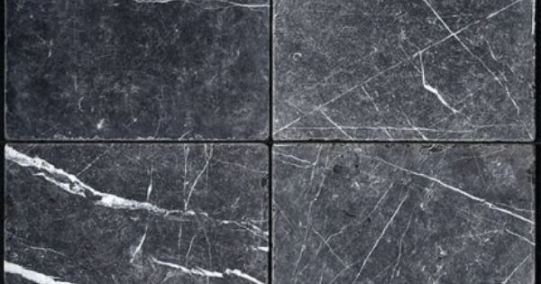 Marble Tile Northeastern Tile Toros Black 12 X 12 Tumbled Buytile Com Olympia Tile Natural Stones Stone
