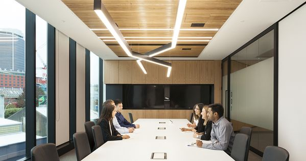 Office tour maersk line offices auckland interiors for Office design auckland