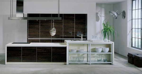 Modern Dark Wood Kitchen Cabinets Tt210 Kitchen Design Favorite